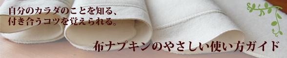 布ナプキンのやさしい使い方ガイド